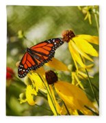 Monarch Days 1 Fleece Blanket