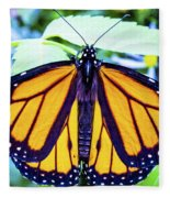 Monarch I Fleece Blanket
