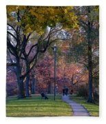 Monarch Park - 133 Fleece Blanket