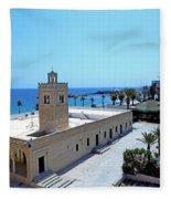 Great Mosque Monastir Fleece Blanket