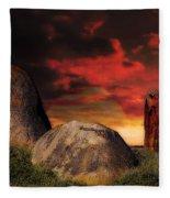 Monatgue Island Fleece Blanket