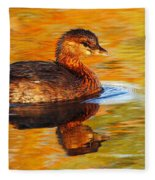 Monet Grebe Fleece Blanket