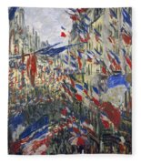 Monet: Montorgeuil, 1878 Fleece Blanket