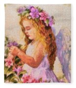 Monet Silked Angel Fleece Blanket