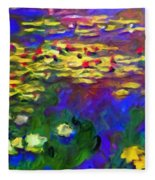 Monet Would Be Horrified Fleece Blanket