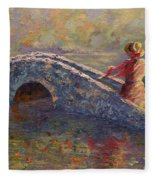Monet's Lady Fleece Blanket