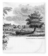 Monmouth Battlefield Fleece Blanket