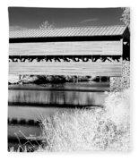 Mono Bridge Fleece Blanket