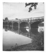 Monocacy Aqueduct, 1892 Fleece Blanket