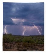 Monsoon Madness Strikes  Fleece Blanket