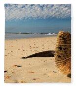 Monster Clam Fleece Blanket