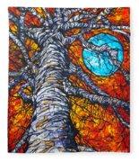 Monster Tree Fleece Blanket