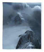 Mont Blanc Storm Fleece Blanket