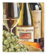Mont Crystal 1988 Fleece Blanket