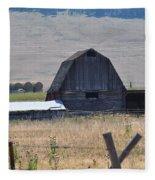 Montana Barn Fleece Blanket