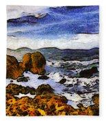 Montana Da Oro San Luis Obispo State Park Fleece Blanket