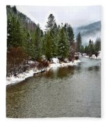 Montana Winter Fleece Blanket