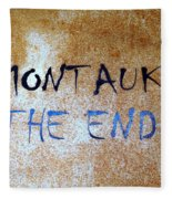 Montauk-the End Fleece Blanket