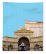 Monte Carlo Fleece Blanket