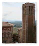 Montepulciano  Fleece Blanket