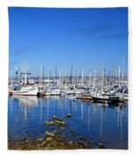Monterey-7 Fleece Blanket