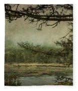 Monterey Bay - The Other Side Fleece Blanket
