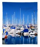 Monterey Bay Yacht Club 19704 Fleece Blanket