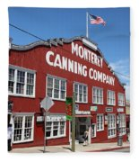 Monterey Cannery Row California 5d25045 Fleece Blanket