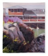 Monterey Fisherman's Wharf Fleece Blanket