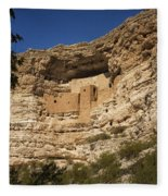 Montezuma Castle National Monument Az Dsc09056 Fleece Blanket