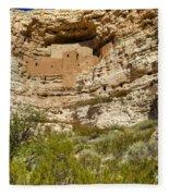 Montezumas Castle 14 Fleece Blanket
