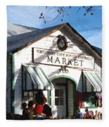 Montgomery County Market Fleece Blanket