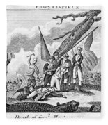Montgomerys Death, 1775 Fleece Blanket