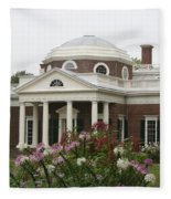 Monticello Estate Fleece Blanket