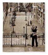 Montmartre Moment Fleece Blanket