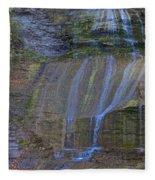 Montour Falls Fall Panorama Fleece Blanket