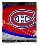 Montreal Canadiens Christmas Fleece Blanket