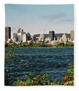 Montreal - Sur Le Fleuve  Fleece Blanket