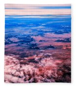 Monument Valley To Be Seen Only If You Were A Bird Fleece Blanket