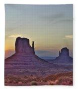 Monumental Morning Fleece Blanket