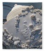 Monumental Urn -- By Clodion? Fleece Blanket