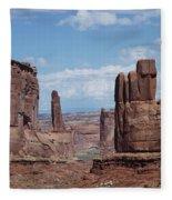 Monuments Fleece Blanket