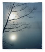 Moody Blue Fleece Blanket