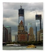 Moody City Fleece Blanket