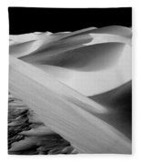 Moon Light Dunes Fleece Blanket