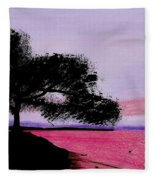 Moon Rise Fleece Blanket