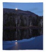 Moon Rise Fleece Blanket