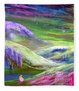 Moon Shadow Fleece Blanket