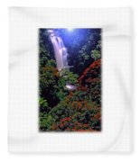 Moonlight Falls Fleece Blanket