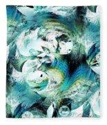Moonlight Fish Fleece Blanket